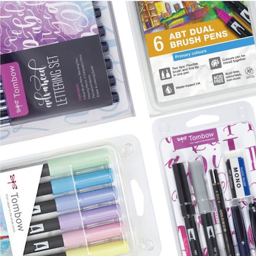 Tombow Dual Brush Sets & Accessoires