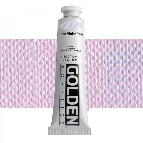 Heavy Body 1573 S1 Titan Violet Pale Golden 60ml