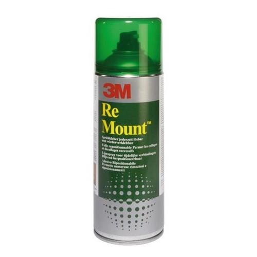 Spuitlijm 3M Re Mount