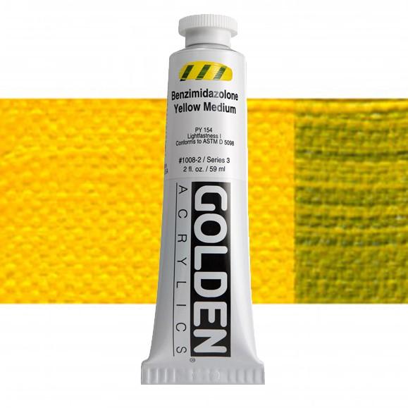 Heavy Body 1008 S3 Benzimidazolone Geel Middel Golden 60ml