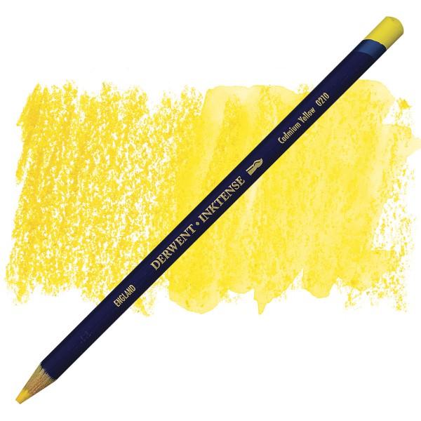 Inktense Cadmium Yellow 0210 Derwent