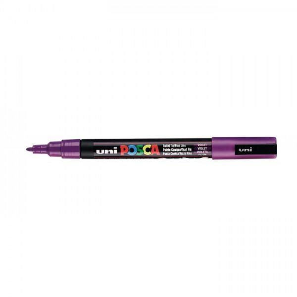 Posca verf stift PC3M Paars Paint marker