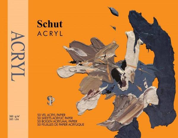 Schut Acryl Papier 360gr 30x40cm Blok