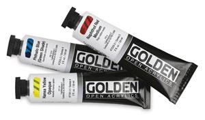 Golden open