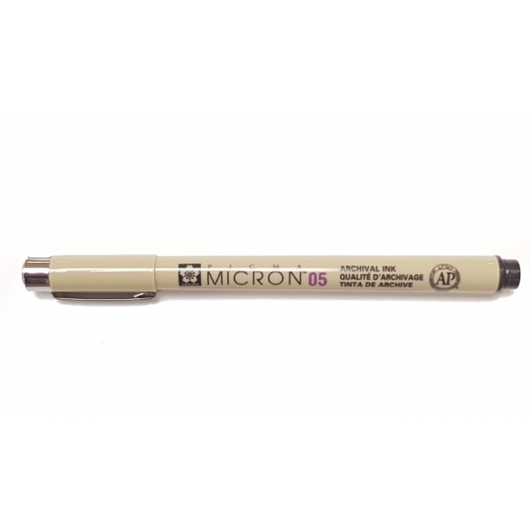 Pigma Micron 05 (0.45mm) BLACK Sakura Fineliner