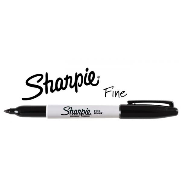 Permanent Marker Sharpie Rond 1.0Mm Fine Zwart
