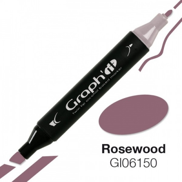 Graph'it marker 6150 Rosewood