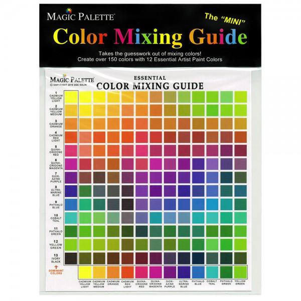 Color mixing guide - Gids voor kleurenmenging
