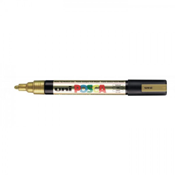 Posca verf stift PC5M Goud Paint marker