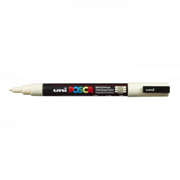 Posca verf stift PC3M Ivoor Paint marker