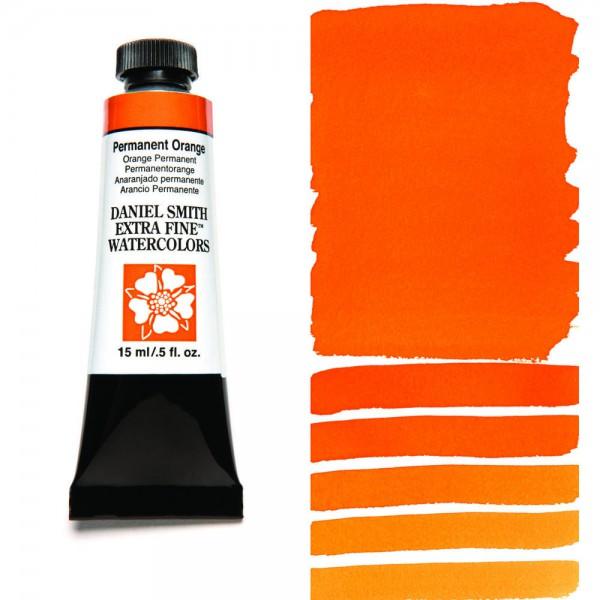 Permanent Orange Serie 3 Watercolor 15 ml. Daniel Smith Aquarelverf