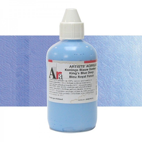 ARA Artists Acrylics 250ml D250 COBALT BLAUW