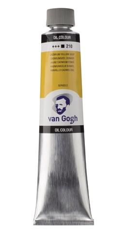 Van Gogh Olieverf 200 ml. Cadmium Geel Donker