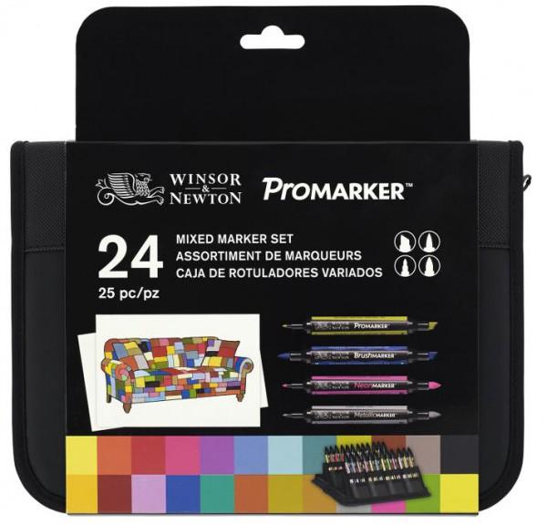 Promarker set 24 - Mixed Marker Winsor & Newton