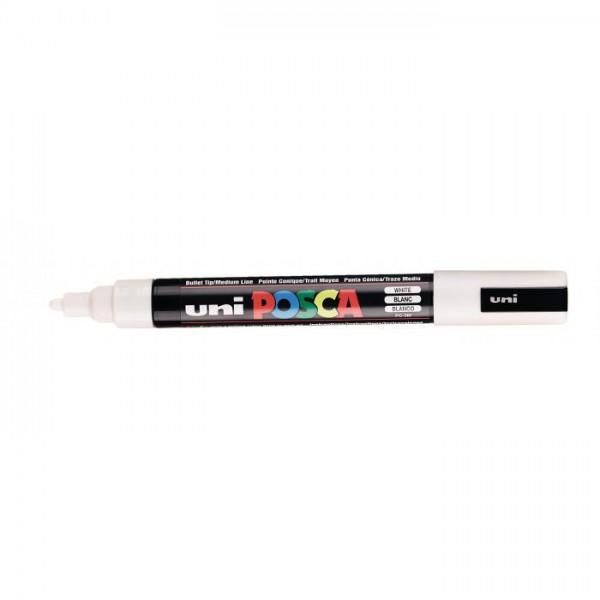 Posca verf stift PC5M Wit Paint marker