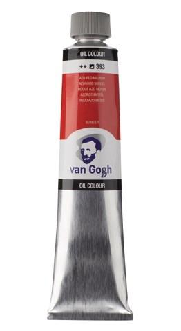Azorood Middel393 Olieverf 200 ml. Van Gogh