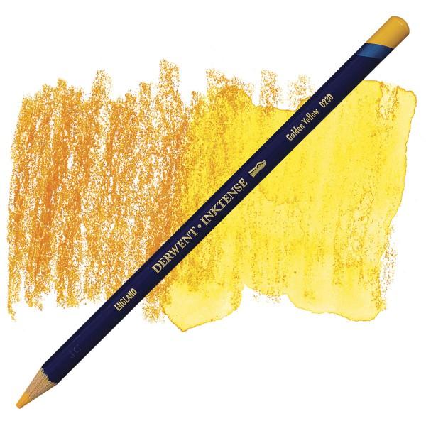 Inktense Golden Yellow 0230 Derwent