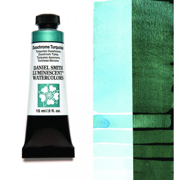 Duochrome Turquoise Serie 1 Watercolor 15 ml. Daniel Smith