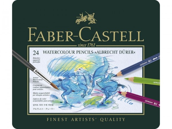 Aquarelpotloden Dürer 24 set Faber Castell