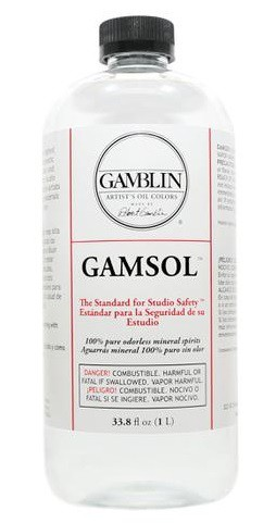 Gamsol 1000 ml natuurlijke Terpentine vervanger Gamblin