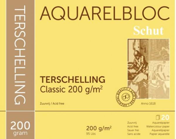 Terschelling Classic 200 gr 40x50 Aquarelpapier