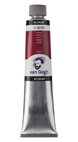 Karmijn 318 Olieverf 200 ml. Van Gogh