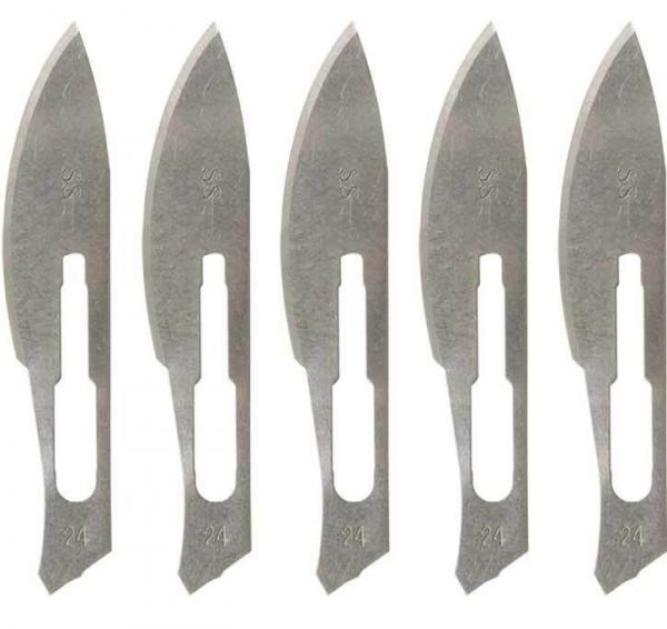 Losse mesjes voor scalpelhouder 5st.
