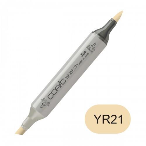 COPIC sketch YR21