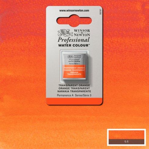 Artist's Aquarel Winsor Transparent Orange napje S3