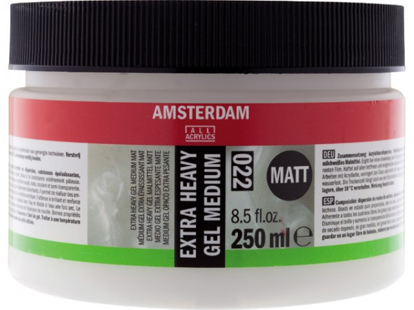 Amsterdam Extra Heavy Gel Mat medium 022 250ml
