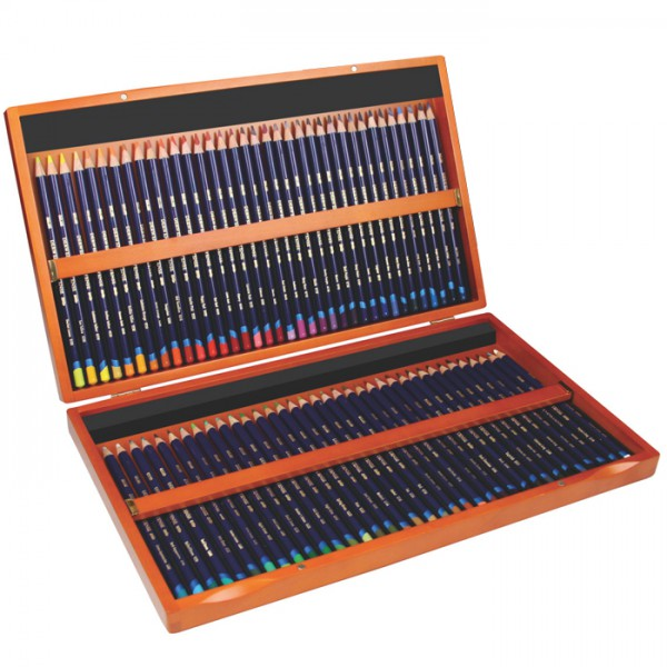 Inktense Aquarel potloden set hout 72 stuks Derwent
