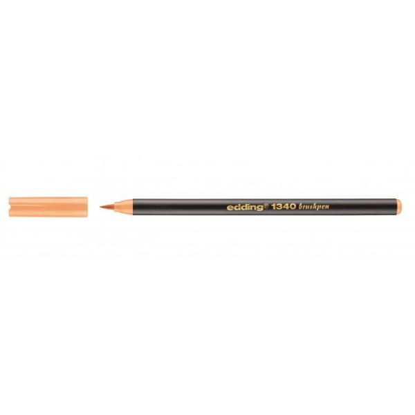Edding 1340 Brushpen Licht Oranje 016 Flexibel Penseelvorm