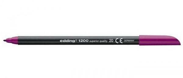Edding 1200 Lila 020 0,5-1 mm Tekenstift