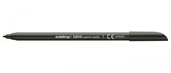 Edding 1200 Zwart 001 0,5-1 mm Tekenstift