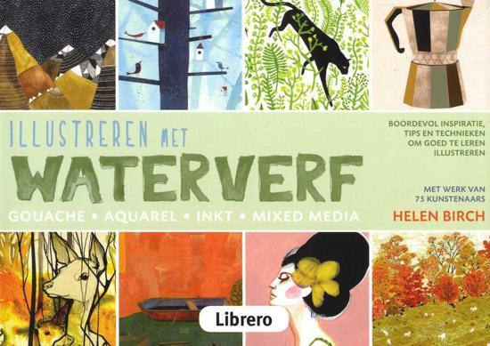 Illustreren met Waterverf - boek
