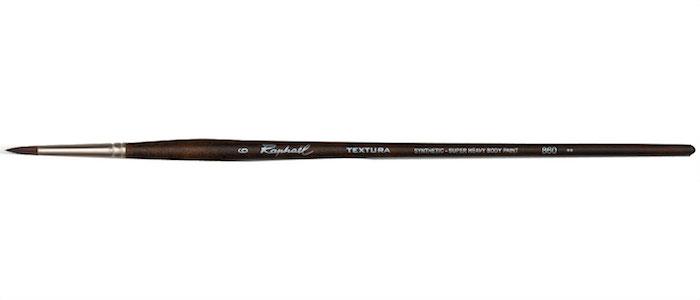 Raphael penseel Acryl 860.6 Textura | 860 TEXTURA ** (syntethisch) STEVIG | Syntetische haren | Acryl en Olieverf penselen | Penselen & Paletmessen | Busch & van der Worp