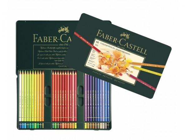 Faber Castell 60 Kleurpotloden Polychromos