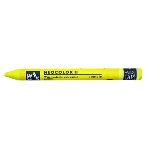 Neocolor II YELLOW 010 Caran d'ache