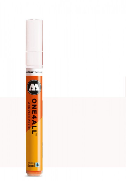 Molotow One4All Acryl Marker 227HS 4mm SIGNAL WHITE