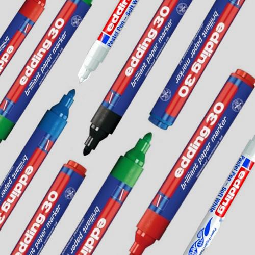 Edding 30 & 1500 Stift