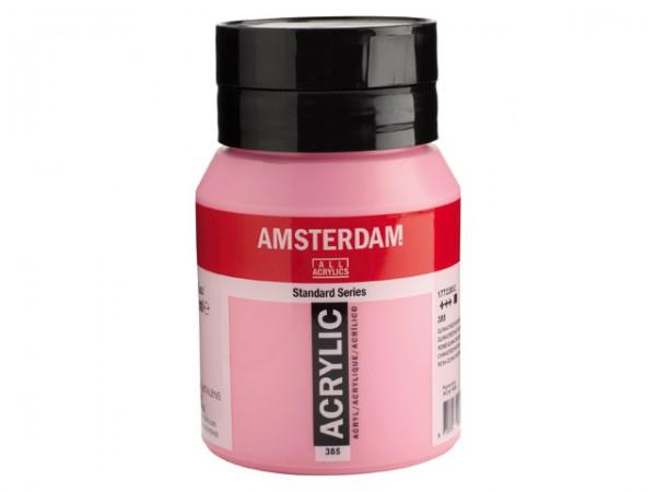 Amsterdam Acryl 500ml 385 Quinacridone rose Licht