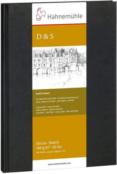 D&S Dummy A3 Portret formaat Hahnemuhle schetsboek