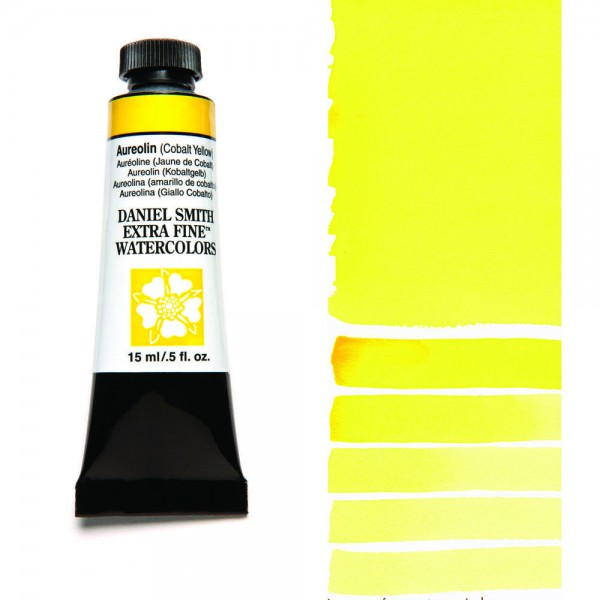 Aureolin (Cobalt Yellow) Serie 3 Watercolor 15 ml. Daniel Smith Aquarelverf
