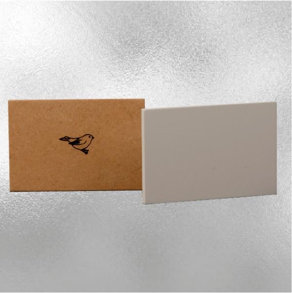 Mus Paneel 40x50 Silver Line (grijs/stroef)
