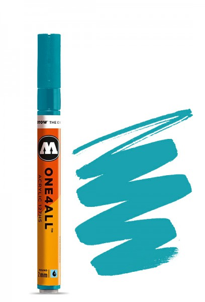 Acryl Marker 127HS 2mm TURQUOISE GREEN Molotow One4All Paint marker