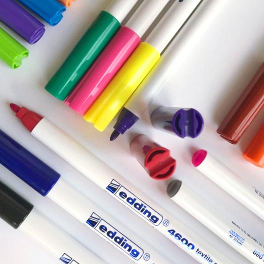 Edding 4600 1mm Textiel Stiften