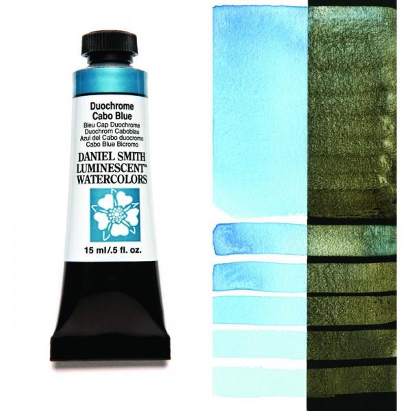 Duochrome Cabo Blue Serie 1 Watercolor 15 ml. Daniel Smith