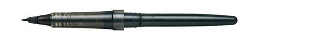 pentel-stylo-tradio-pen-tekenen-vilt-riet-zwart