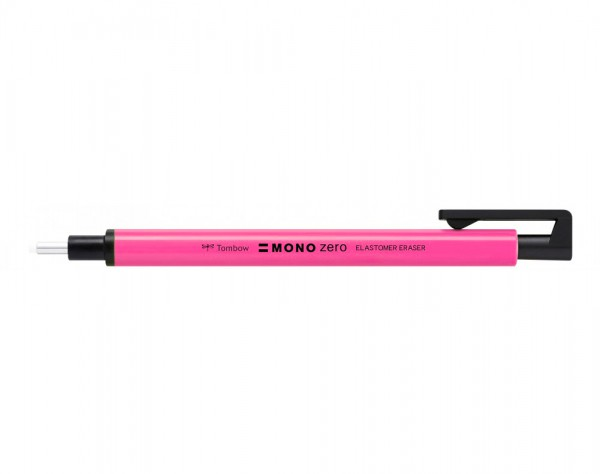 Mono Zero rond Gum Potlood Fluor Roze (doorsnee 2,3 mm) Potlood Tombow