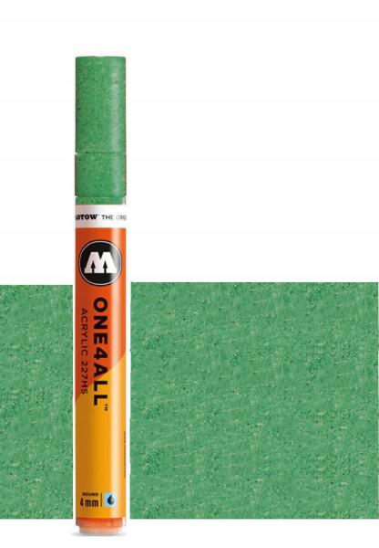 Molotow One4All Acryl Marker 227HS 4mm METALLIC GREEN Paint marker
